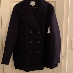Old Navy NAVY COLOR Soft brushed pea coat